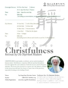 A New Life - Christfulness Retreat @ Tao Fong Shan Christian Centre